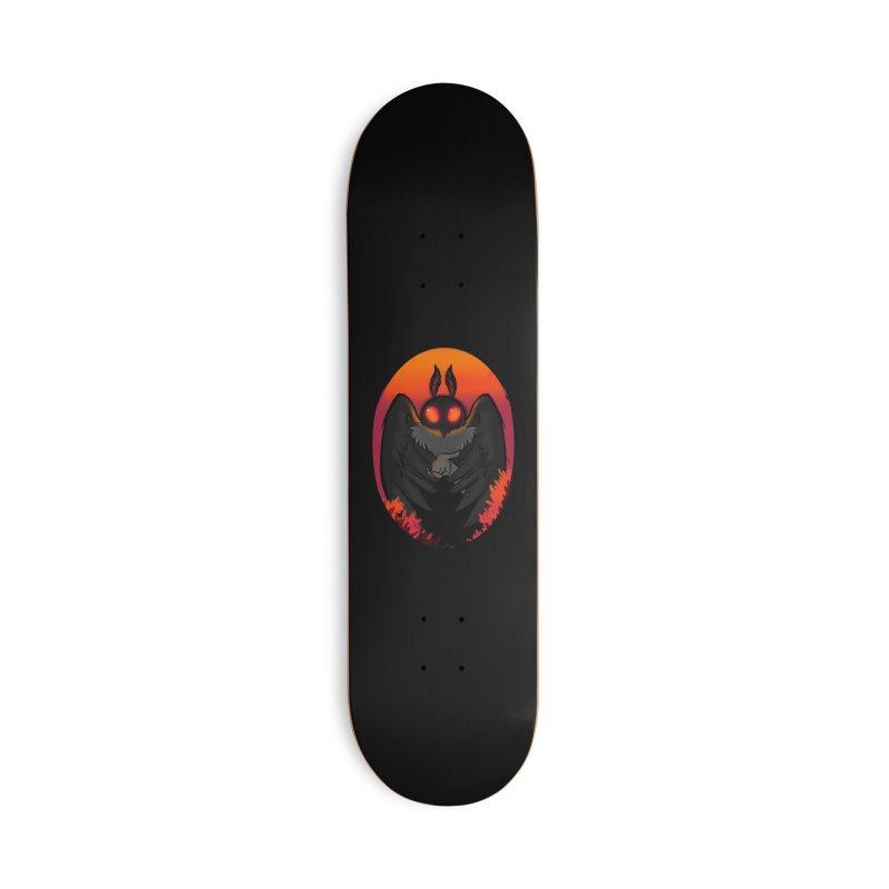 Mothman Accessories Deck Only Skateboard by AnimeGravy