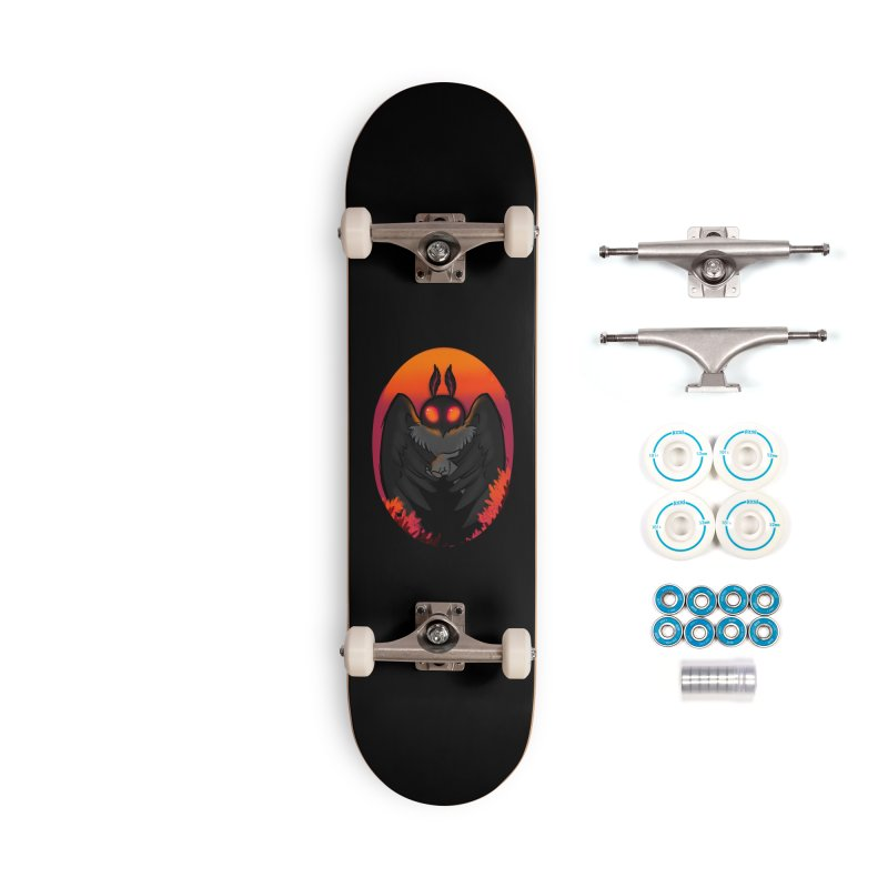 Mothman Accessories Skateboard by AnimeGravy