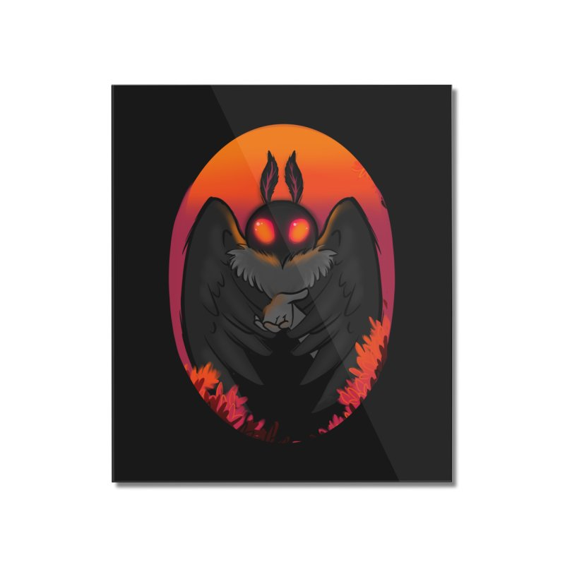 Mothman Home Mounted Acrylic Print by AnimeGravy