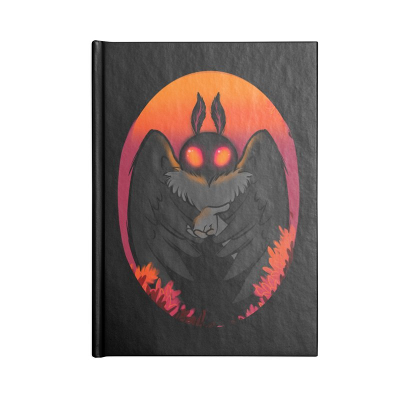 Mothman Accessories Lined Journal Notebook by AnimeGravy