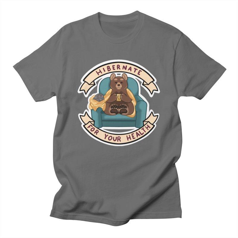 Hibernate for your health Men's T-Shirt by AnimeGravy
