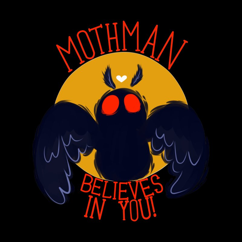 Mothman believes in you Men's T-Shirt by AnimeGravy