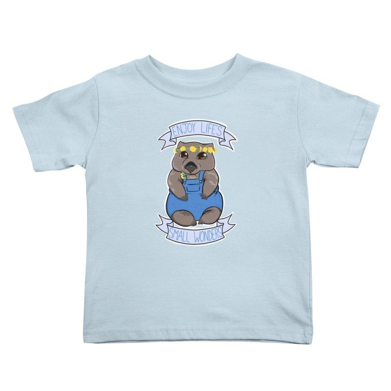Small Wonders Kids Toddler T-Shirt by Animegravy's Artist Shop