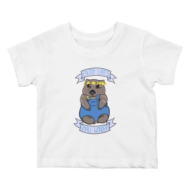 Small Wonders Kids Baby T-Shirt by Animegravy's Artist Shop