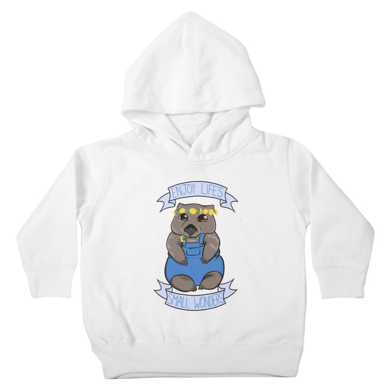 Small Wonders Kids Toddler Pullover Hoody by Animegravy's Artist Shop