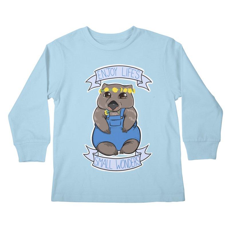 Small Wonders Kids Longsleeve T-Shirt by Animegravy's Artist Shop