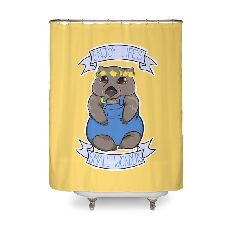 Small Wonders Home Shower Curtain by Animegravy's Artist Shop