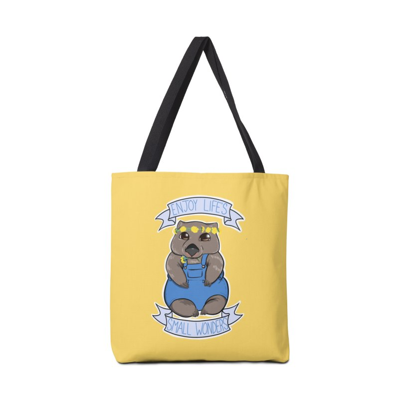 Small Wonders Accessories Tote Bag Bag by AnimeGravy
