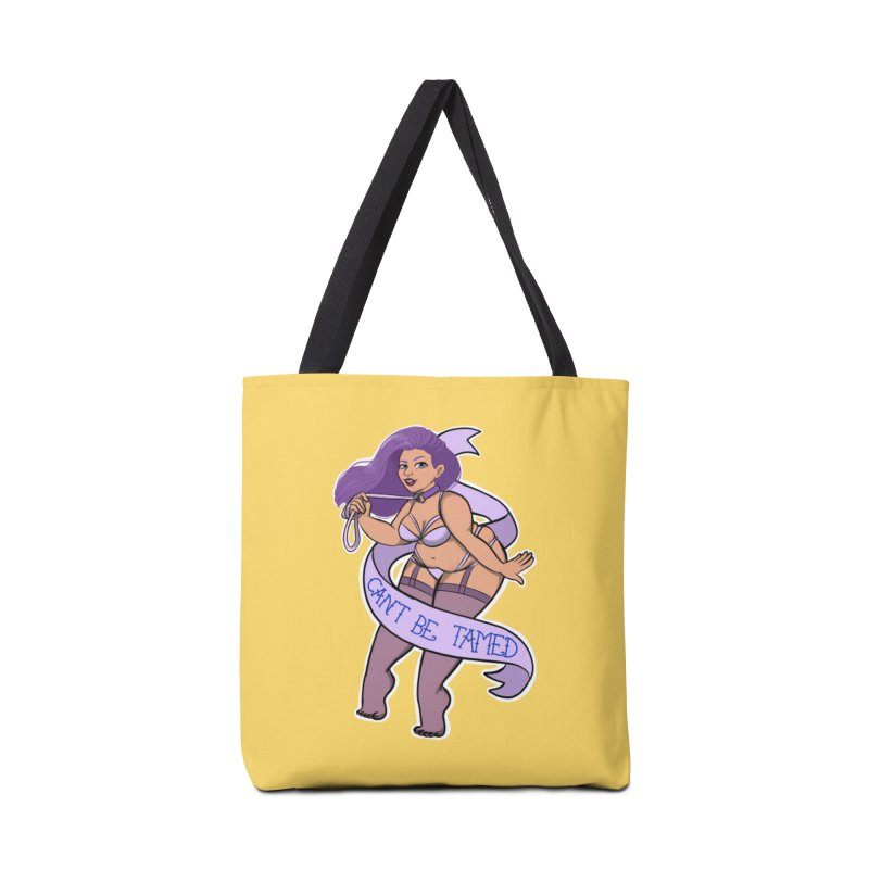Can't Be Tamed Accessories Tote Bag Bag by AnimeGravy