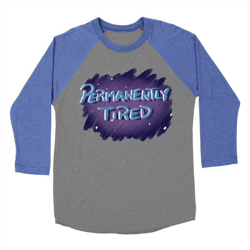 Permanently Tired Men's Baseball Triblend Longsleeve T-Shirt by Animegravy's Artist Shop