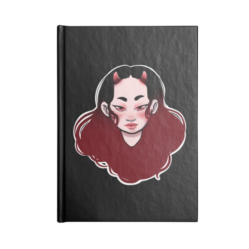 Demon girl Accessories Notebook by Animegravy's Artist Shop