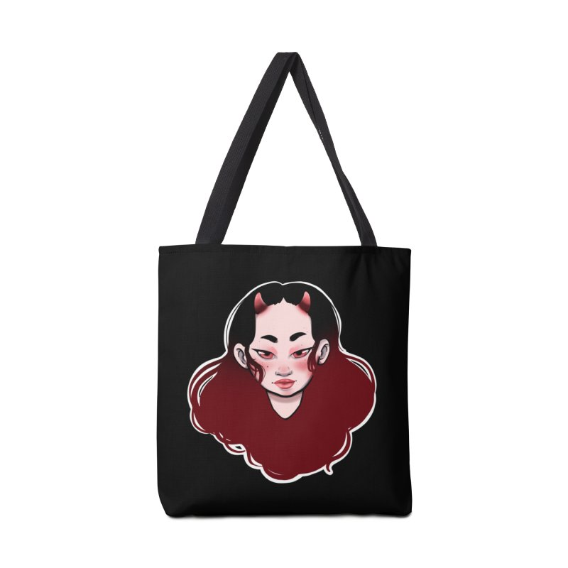 Demon girl Accessories Tote Bag Bag by AnimeGravy