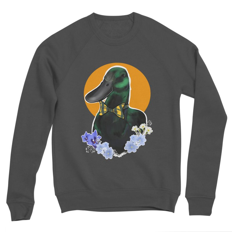 Snipps the duck Men's Sponge Fleece Sweatshirt by Animegravy's Artist Shop