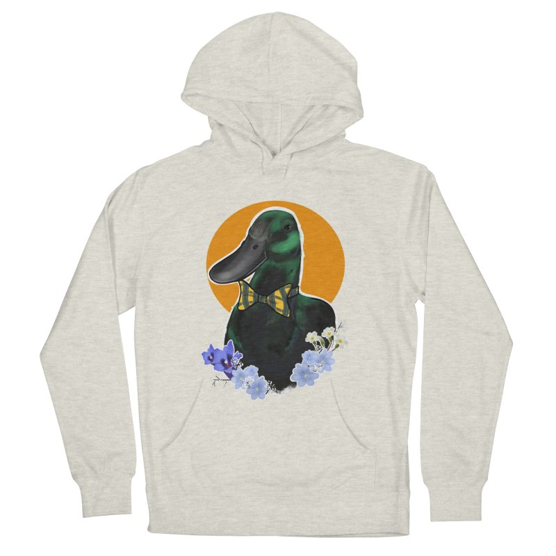 Snipps the duck Women's French Terry Pullover Hoody by Animegravy's Artist Shop
