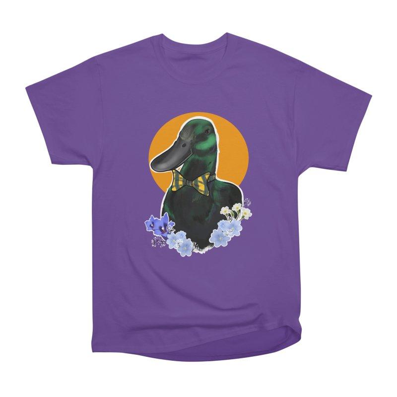 Snipps the duck Men's Heavyweight T-Shirt by Animegravy's Artist Shop