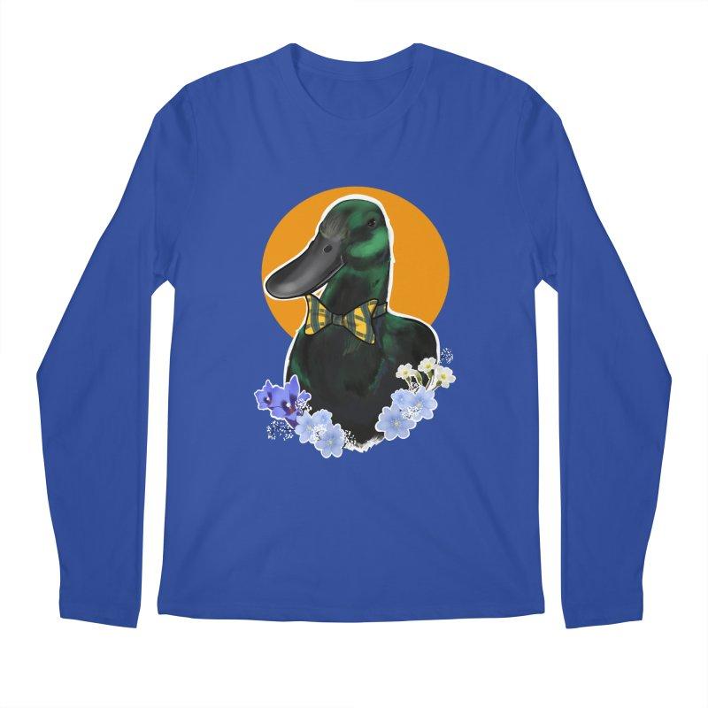 Snipps the duck Men's Regular Longsleeve T-Shirt by Animegravy's Artist Shop