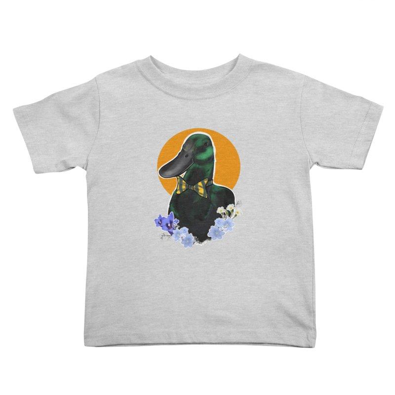 Snipps the duck Kids Toddler T-Shirt by Animegravy's Artist Shop