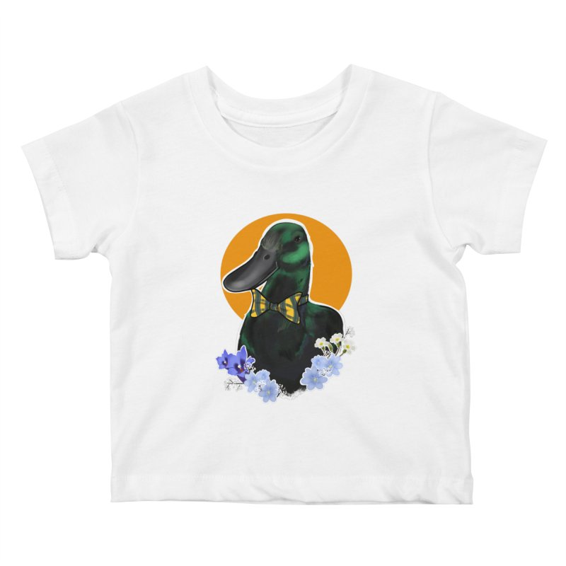 Snipps the duck Kids Baby T-Shirt by Animegravy's Artist Shop