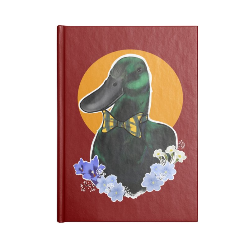 Snipps the duck Accessories Notebook by Animegravy's Artist Shop