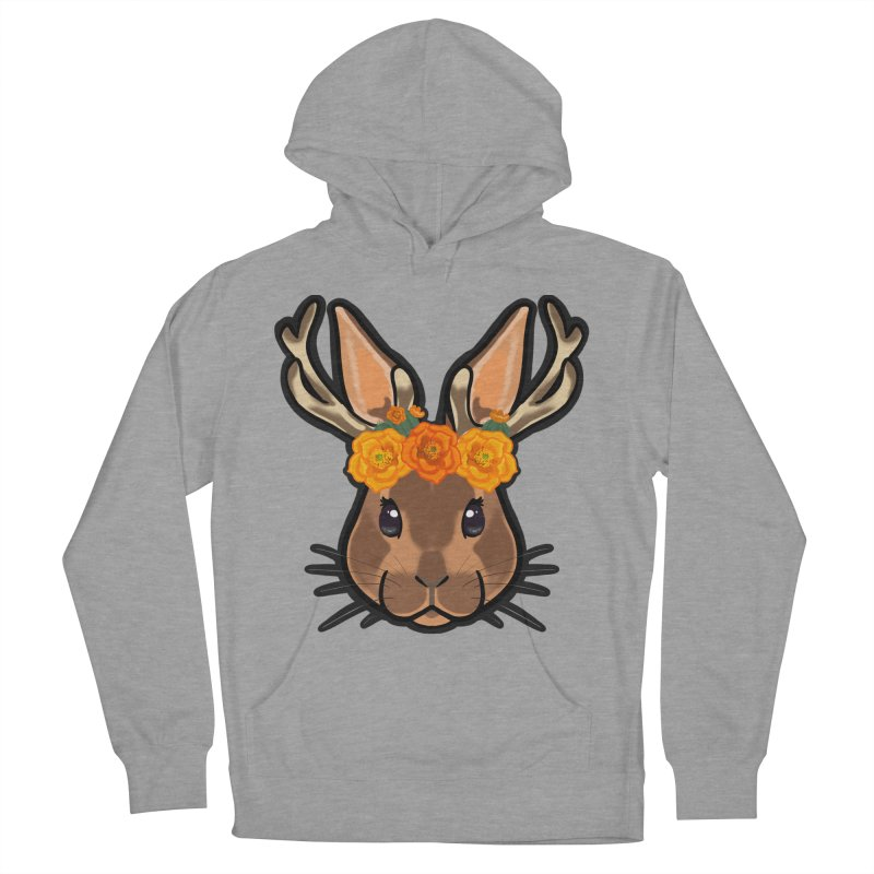 Jakalope Women's French Terry Pullover Hoody by Animegravy's Artist Shop