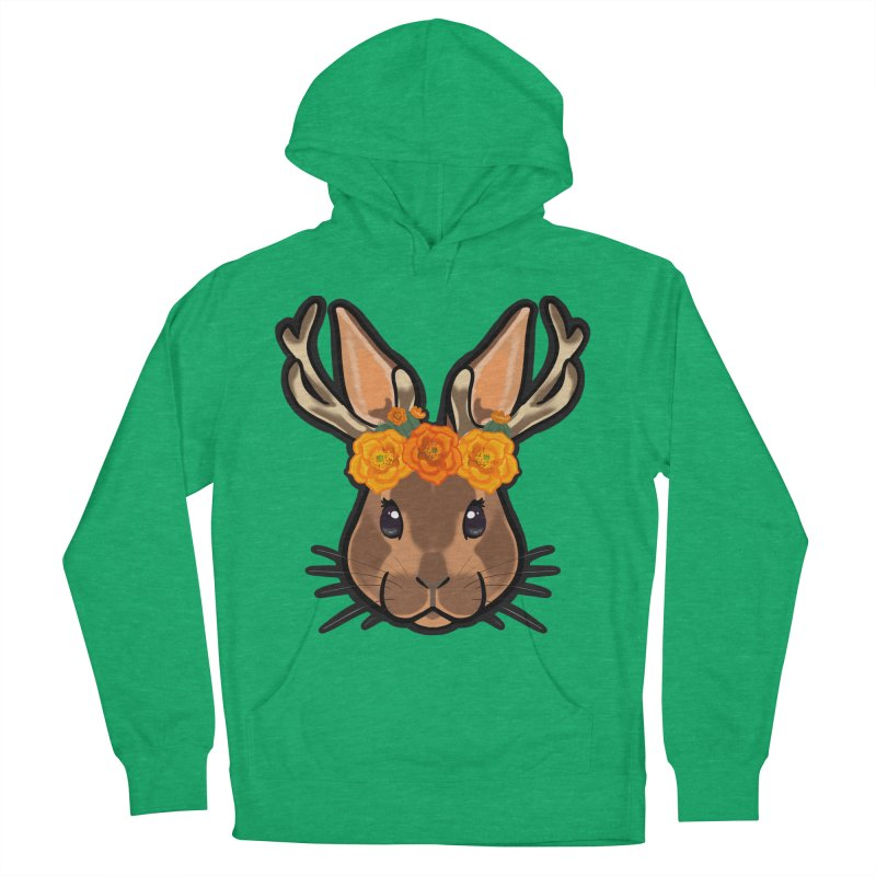 Jakalope Men's French Terry Pullover Hoody by Animegravy's Artist Shop