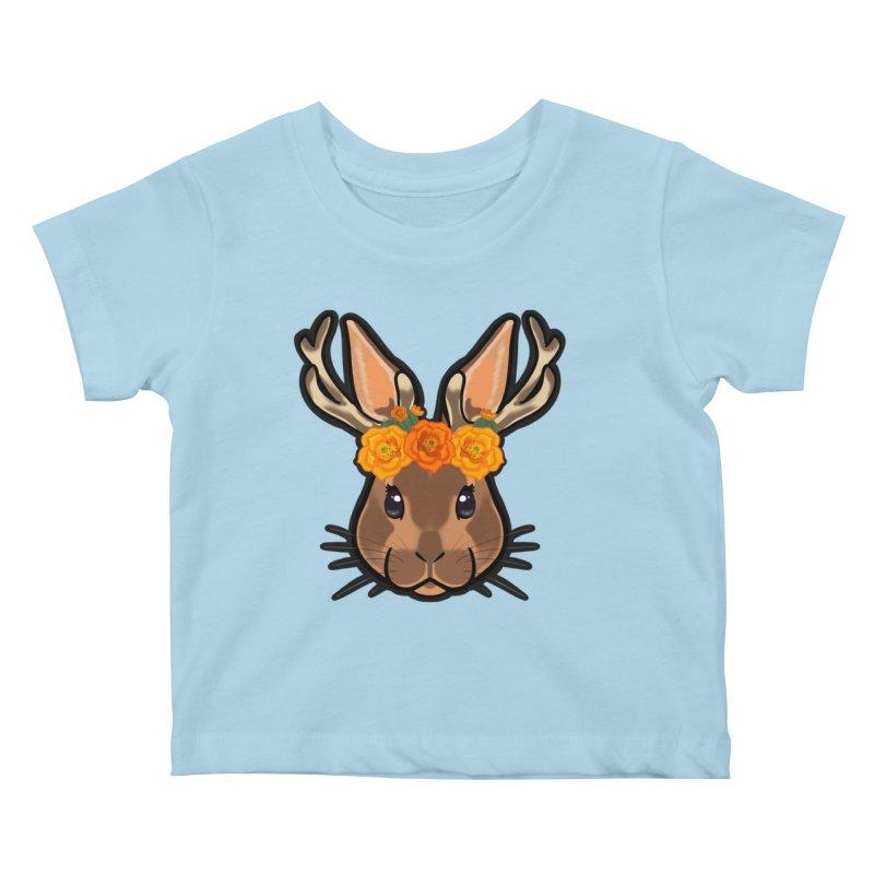 Jakalope Kids Baby T-Shirt by Animegravy's Artist Shop