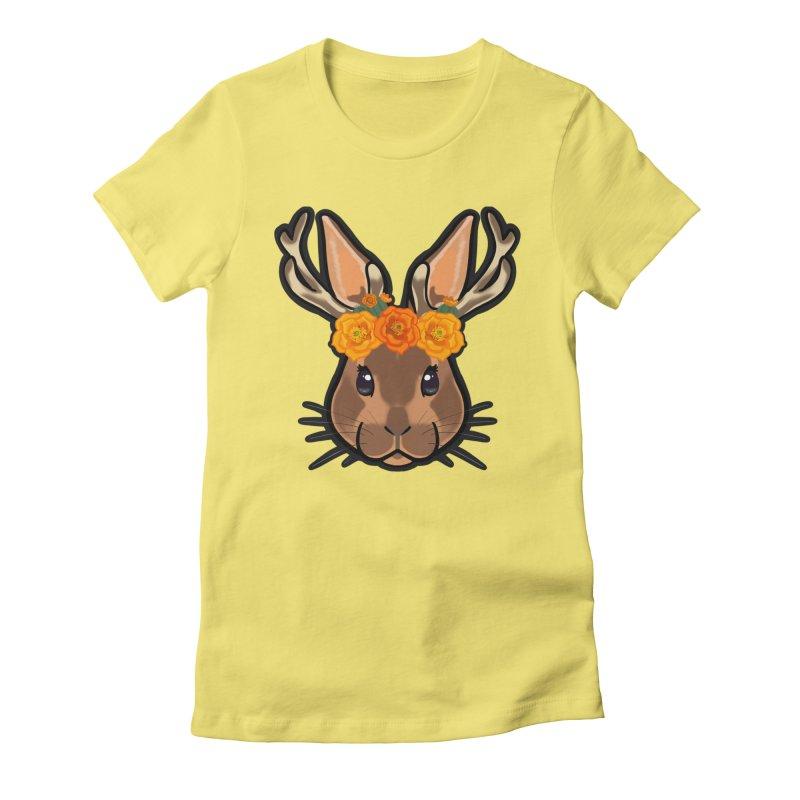 Jakalope Women's Fitted T-Shirt by Animegravy's Artist Shop
