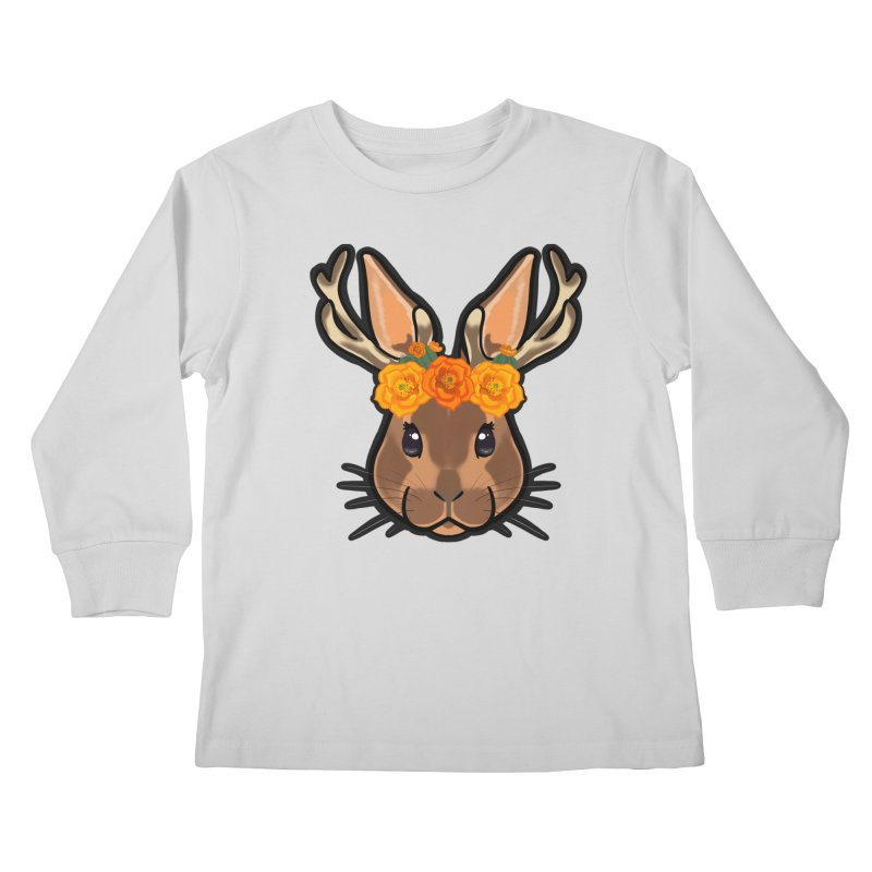 Jakalope Kids Longsleeve T-Shirt by Animegravy's Artist Shop