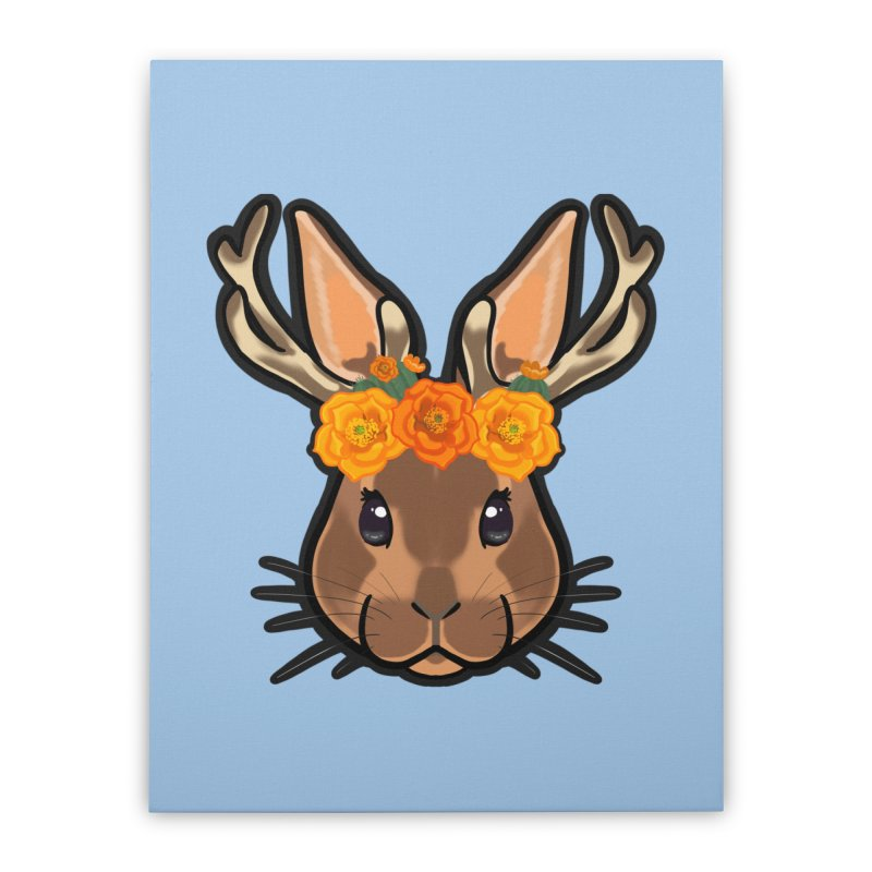 Jakalope Home Stretched Canvas by AnimeGravy