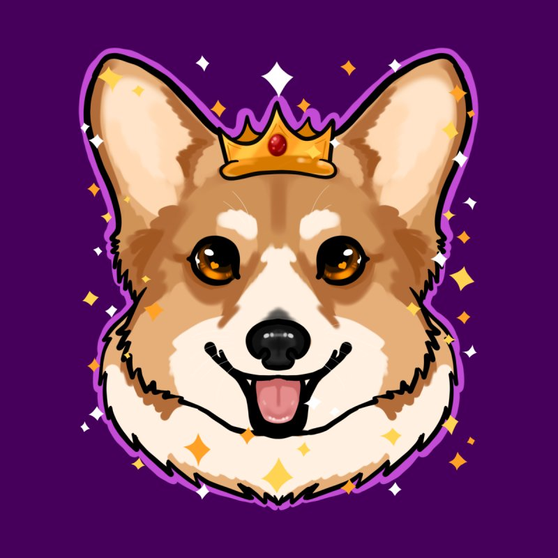 Royal corgi by Animegravy's Artist Shop