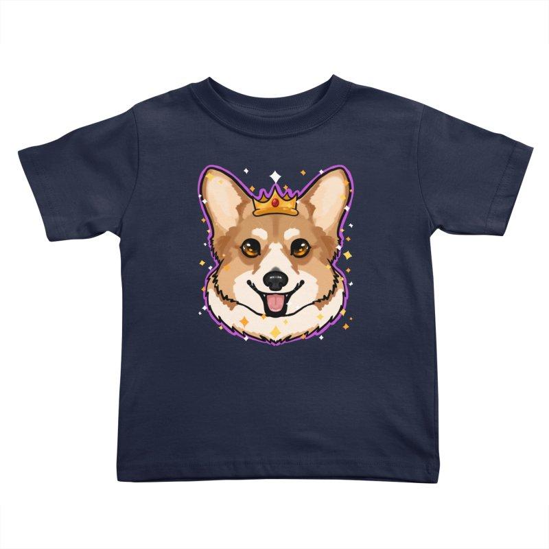 Royal corgi Kids Toddler T-Shirt by Animegravy's Artist Shop