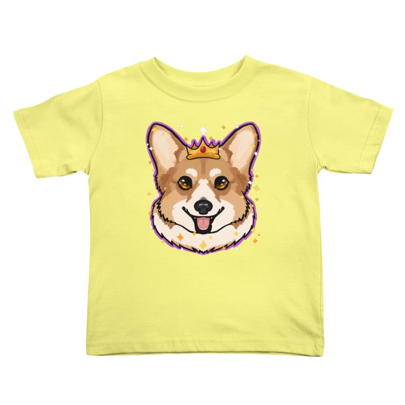 Royal corgi Kids Toddler T-Shirt by Animegravy's Artist Shop