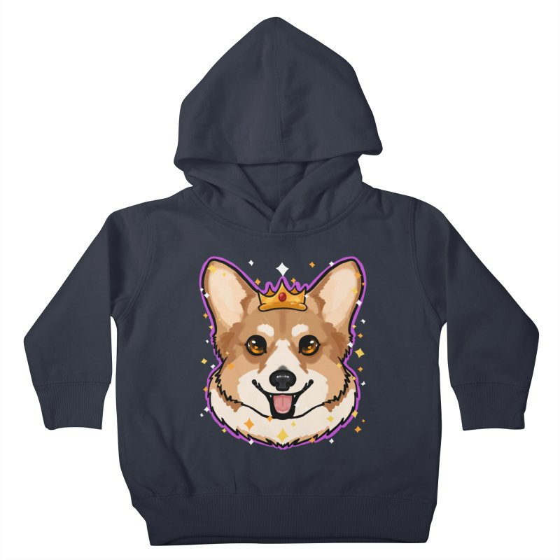 Royal corgi Kids Toddler Pullover Hoody by Animegravy's Artist Shop