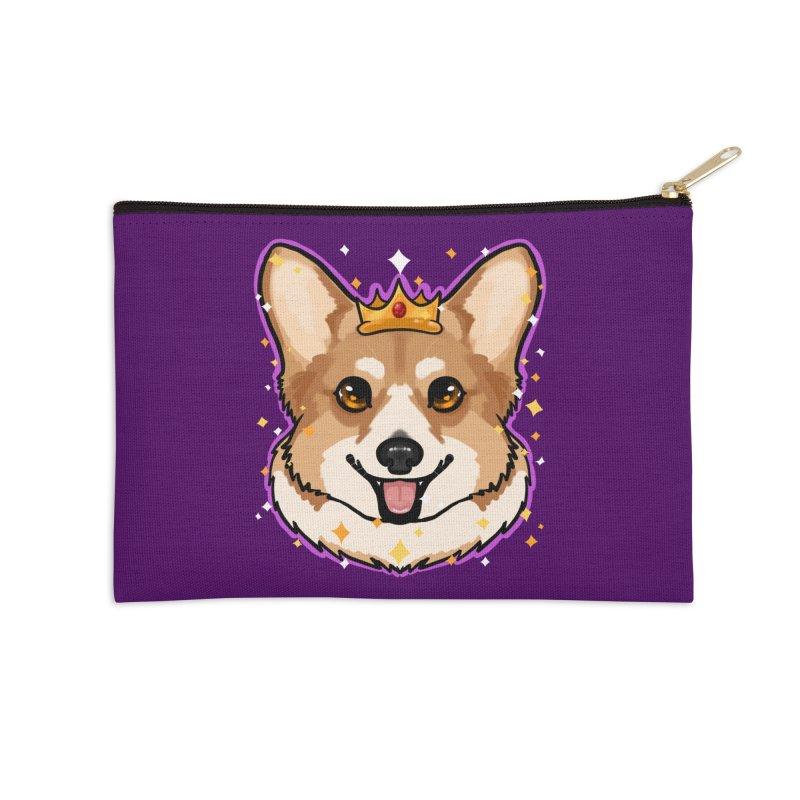 Royal corgi Accessories Zip Pouch by Animegravy's Artist Shop