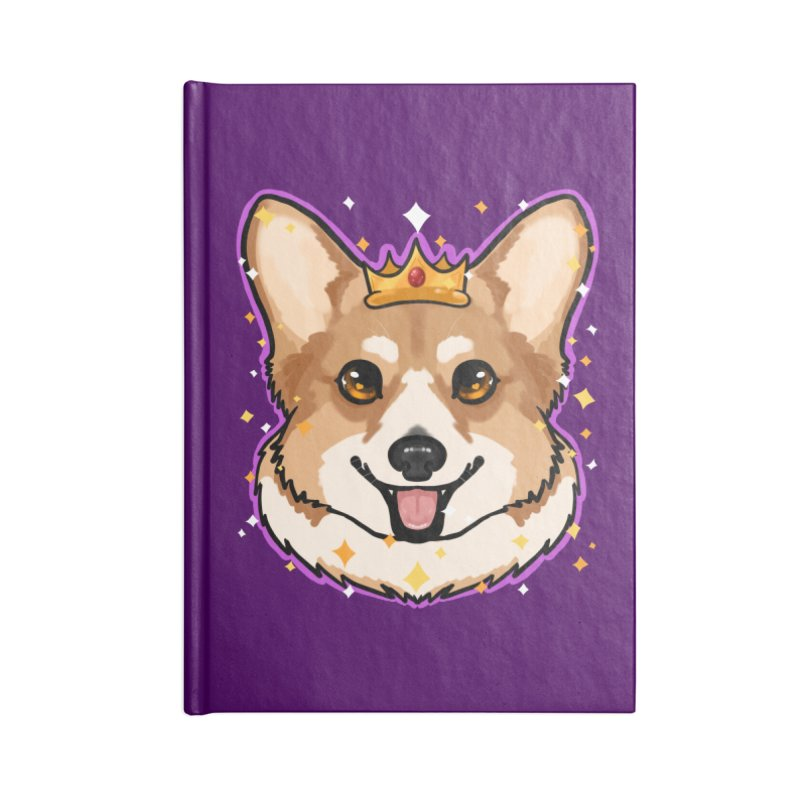 Royal corgi Accessories Notebook by Animegravy's Artist Shop
