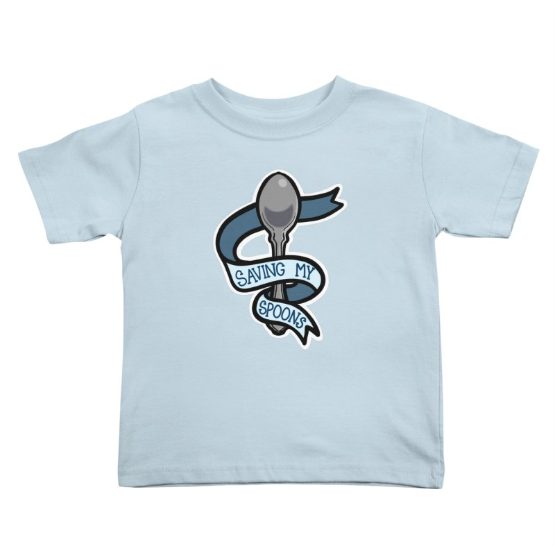 Saving my spoons Kids Toddler T-Shirt by Animegravy's Artist Shop