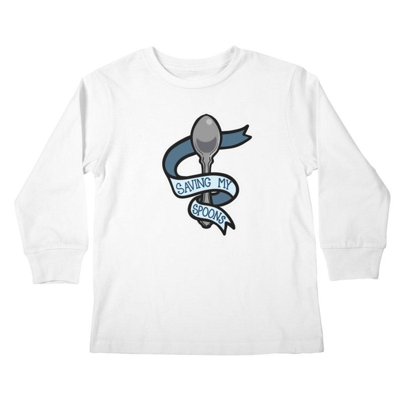 Saving my spoons Kids Longsleeve T-Shirt by Animegravy's Artist Shop