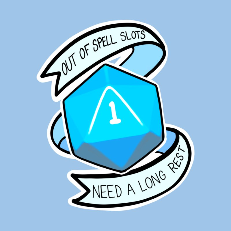 Out of spell slots Kids T-Shirt by AnimeGravy