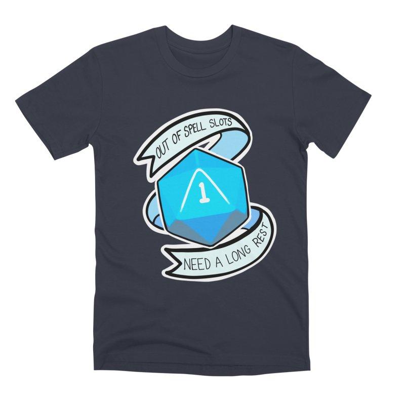 Out of spell slots Men's Premium T-Shirt by AnimeGravy