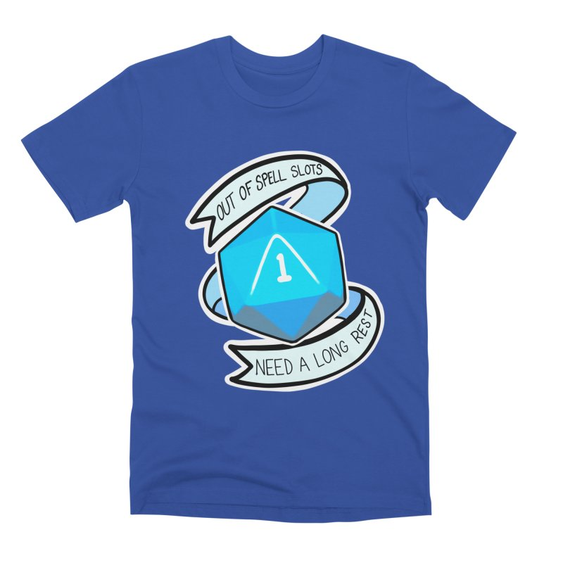 Out of spell slots Men's Premium T-Shirt by Animegravy's Artist Shop
