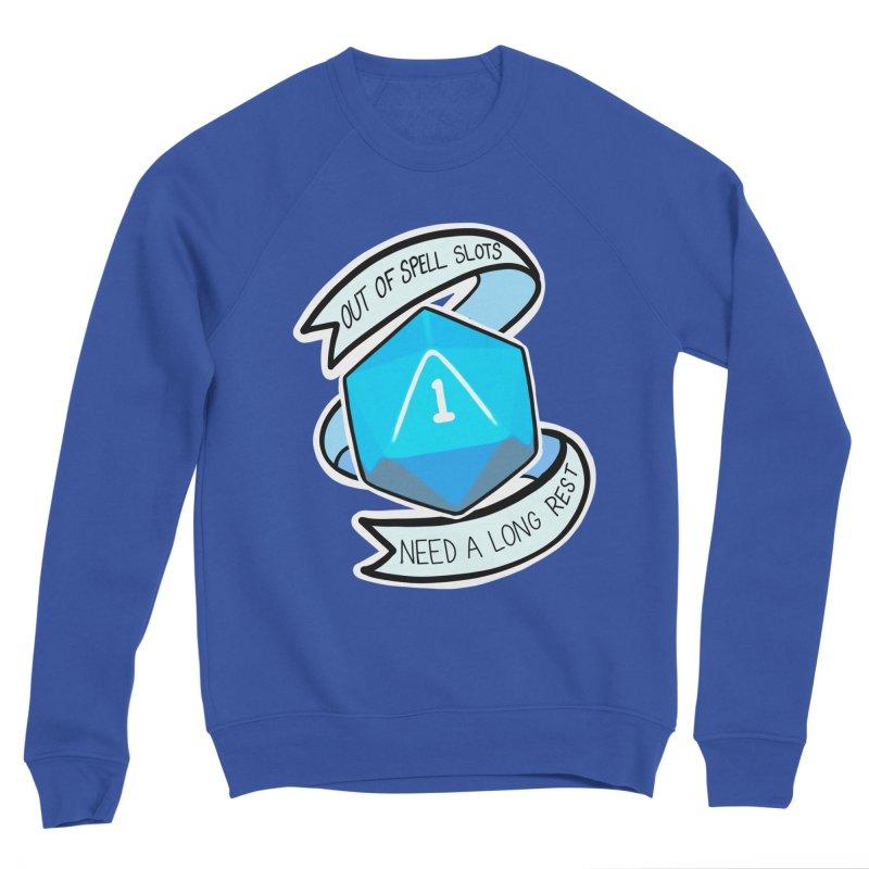 Out of spell slots Women's Sponge Fleece Sweatshirt by Animegravy's Artist Shop