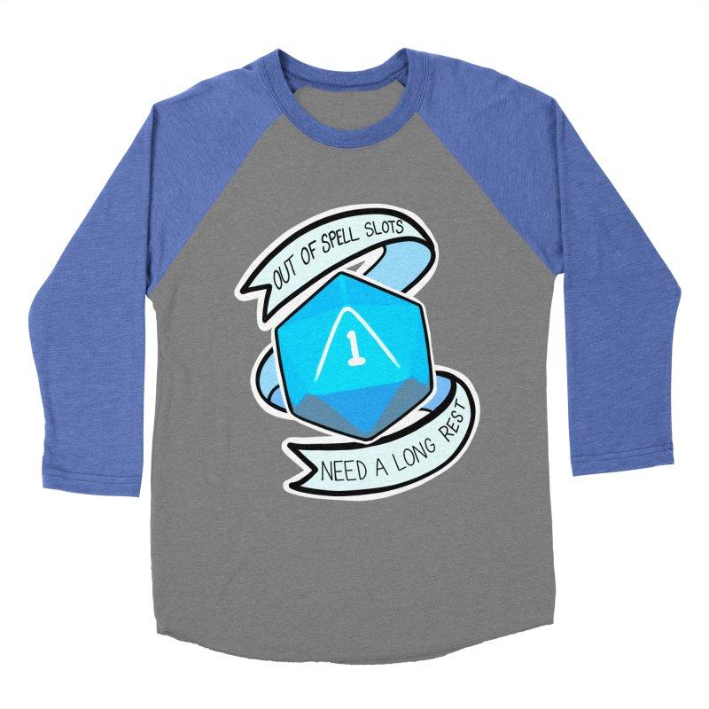 Out of spell slots Women's Baseball Triblend Longsleeve T-Shirt by Animegravy's Artist Shop