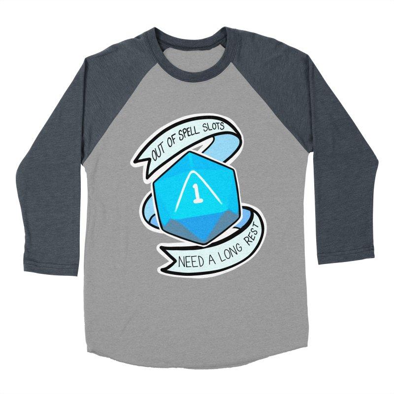 Out of spell slots Women's Baseball Triblend Longsleeve T-Shirt by AnimeGravy