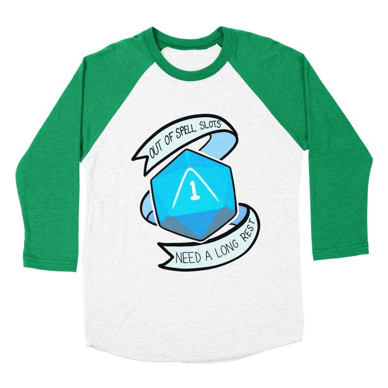 Out of spell slots Men's Baseball Triblend Longsleeve T-Shirt by AnimeGravy
