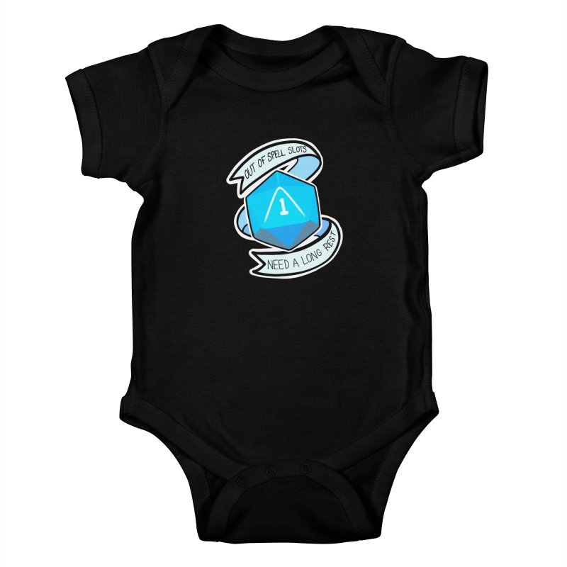 Out of spell slots Kids Baby Bodysuit by AnimeGravy