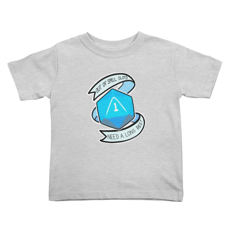 Out of spell slots Kids Toddler T-Shirt by Animegravy's Artist Shop