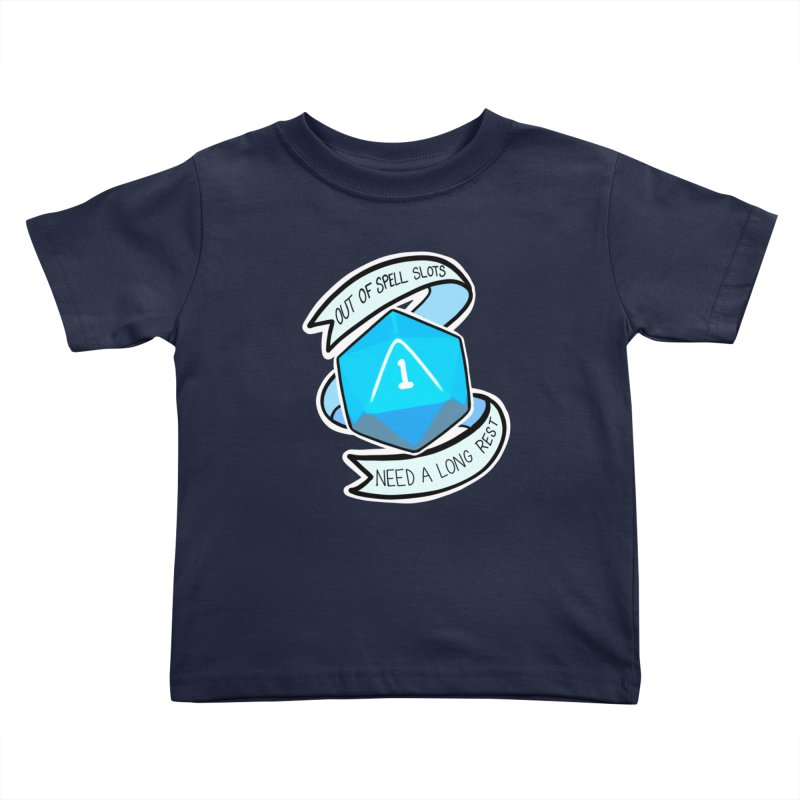 Out of spell slots Kids Toddler T-Shirt by AnimeGravy