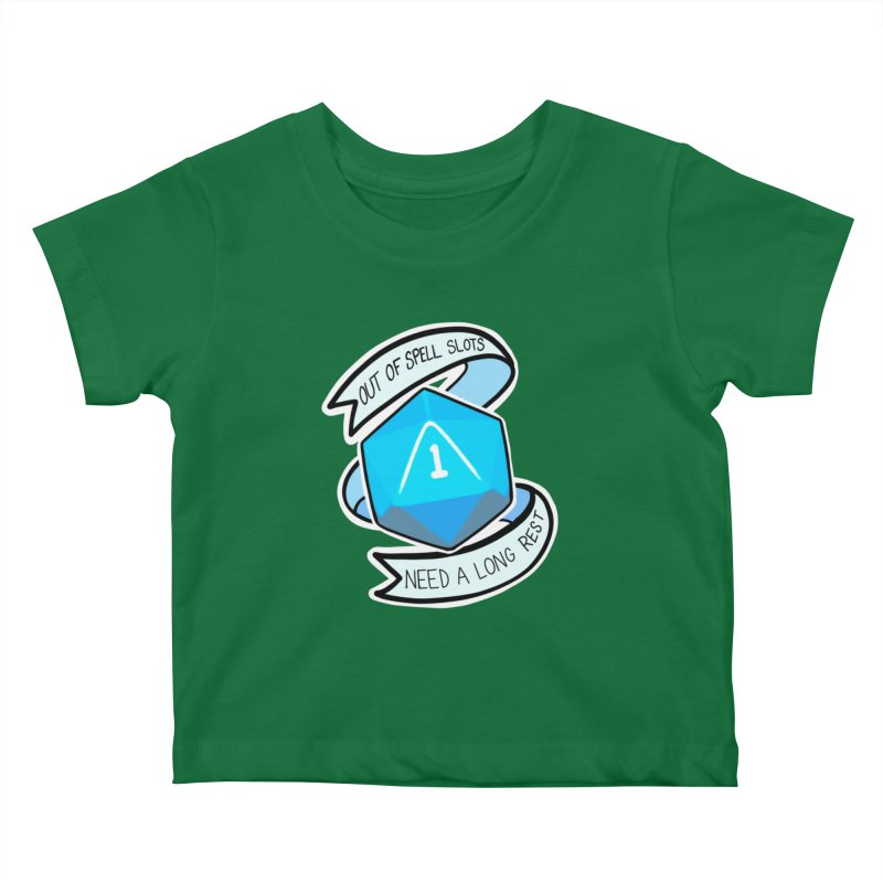 Out of spell slots Kids Baby T-Shirt by AnimeGravy