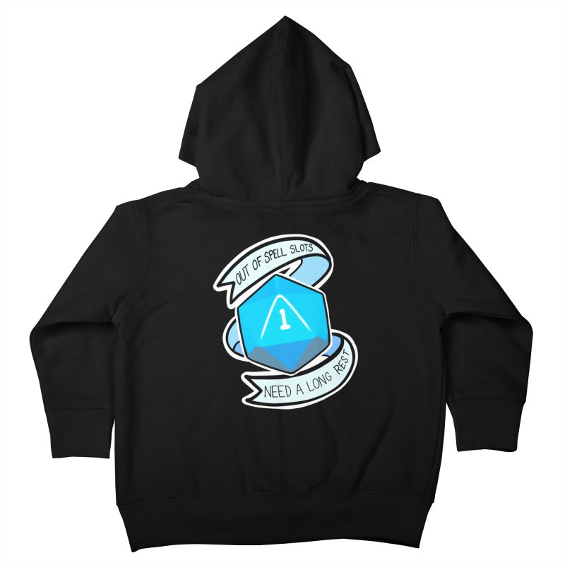 Out of spell slots Kids Toddler Zip-Up Hoody by AnimeGravy