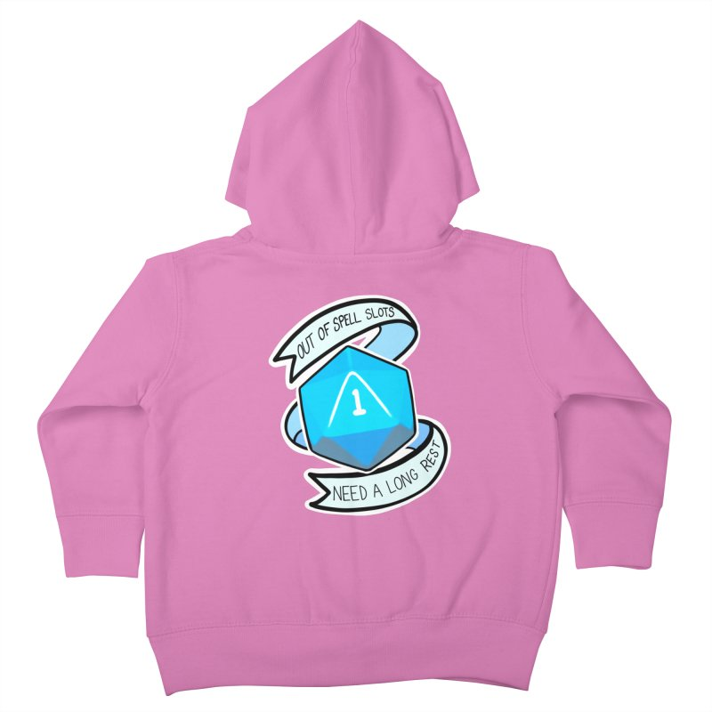 Out of spell slots Kids Toddler Zip-Up Hoody by Animegravy's Artist Shop